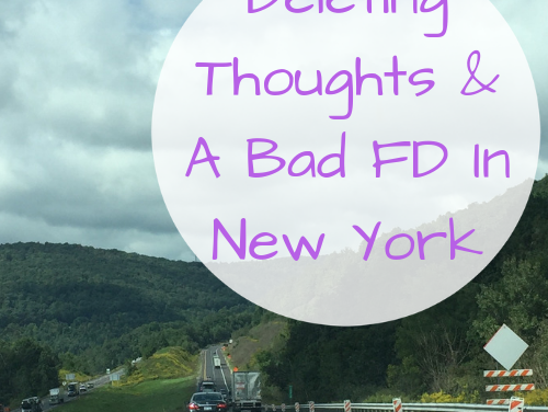 Deleting Thoughts & A Bad FD In New York