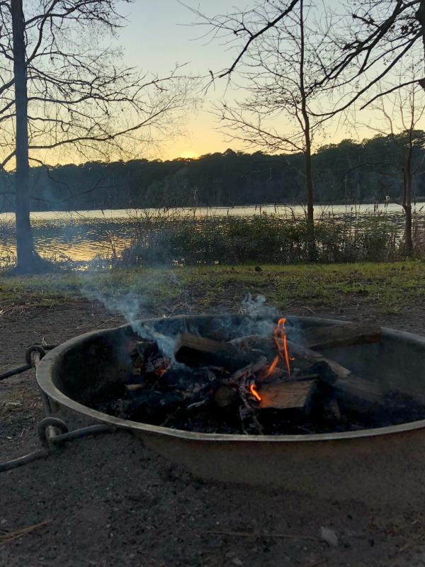 The last evening at Huntsville State Park.