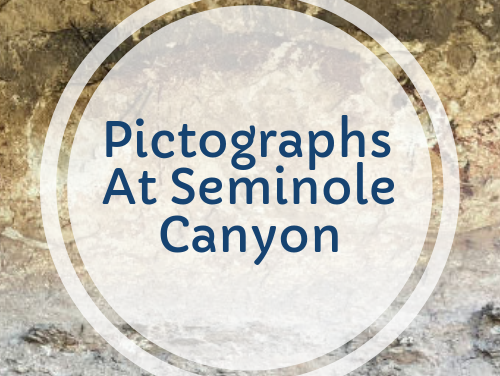 Pictographs At Semimole Canyon