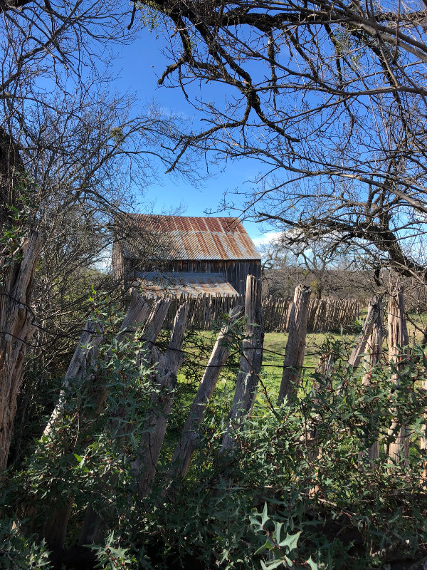 Sheep Barn, South Llano River State Park, Texas