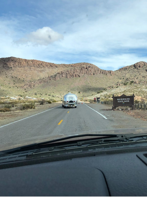 Arriving to Rock Hound State Park Campground near Deming, New Mexico