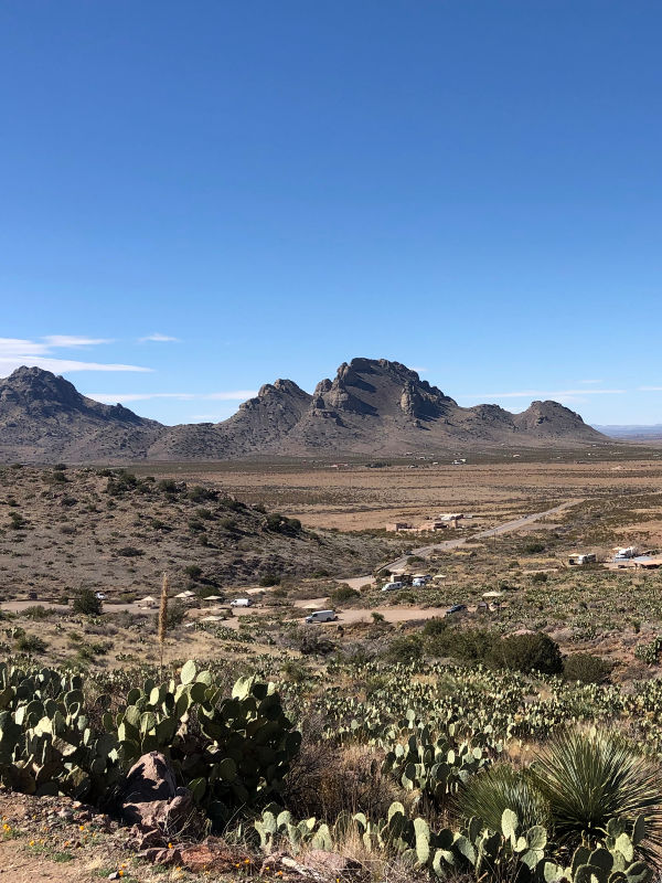 Big Florida Mountain, Rockhound State Park in Deming, New Mexico