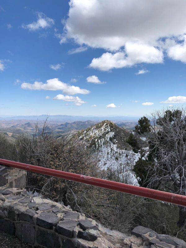 Gila National Forest Vista Point - Emory Pass, New Mexico.