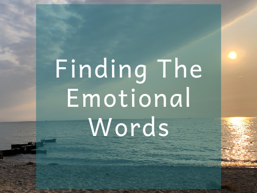 Finding The Emotional Words