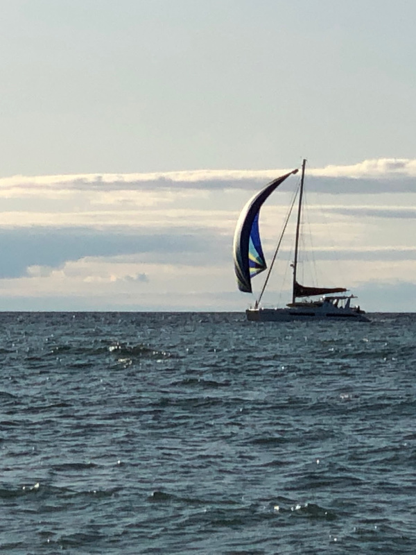 Sailing Lake Michigan