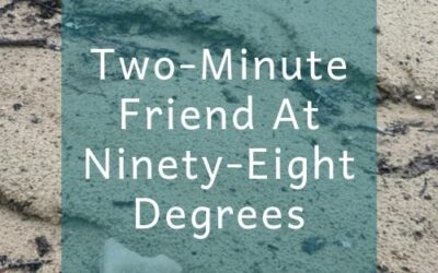 Two-Minute Friend At Ninety-Eight Degrees