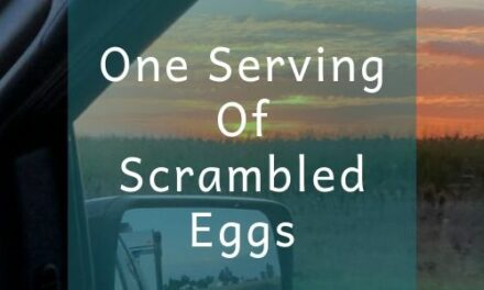 One Serving Of Scrambled Eggs